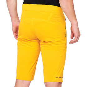 100% Celium Enduro/Trail Short Homme, mustard